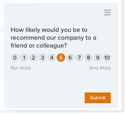 UserVoice Satisfaction Survey