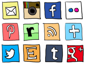 a-mix-social-media-icons