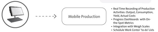 Mobile ERP Production