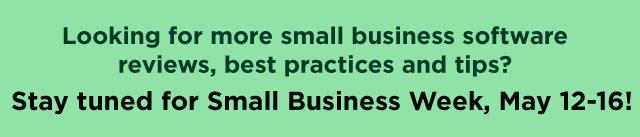 Business-Software.com Small Business Week