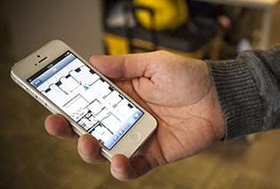 IndoorAtlas Mobile Retail App