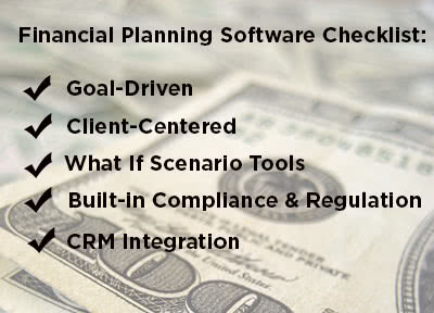 Financial Planning Software Checklist